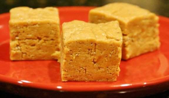 No-bake Peanut Butter Protein Bars