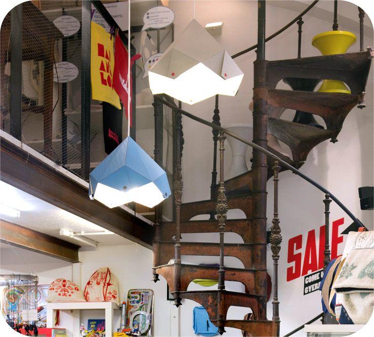 Designer lamps @ Insitu, Budapest