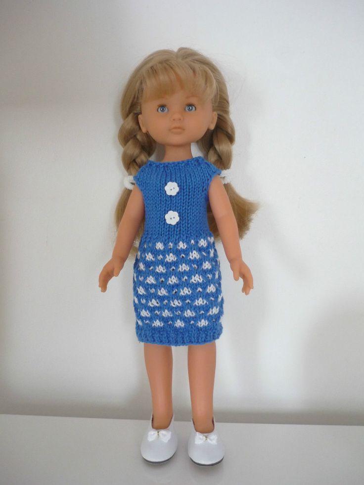robe poup e corolle les ch ries ebay dolls knit. Black Bedroom Furniture Sets. Home Design Ideas