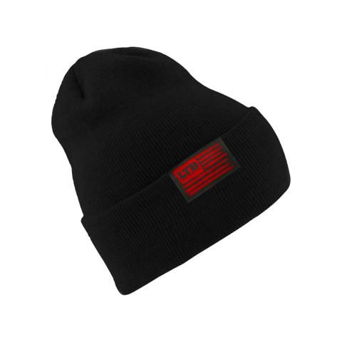 Lucky Tackle Box Flag Beanie in our store now!