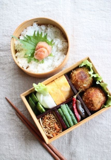 (3) Japanese Bento Boxed Lunch | Japanese food | Pinterest