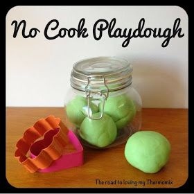 The road to loving my Thermomix: No Cook Playdough