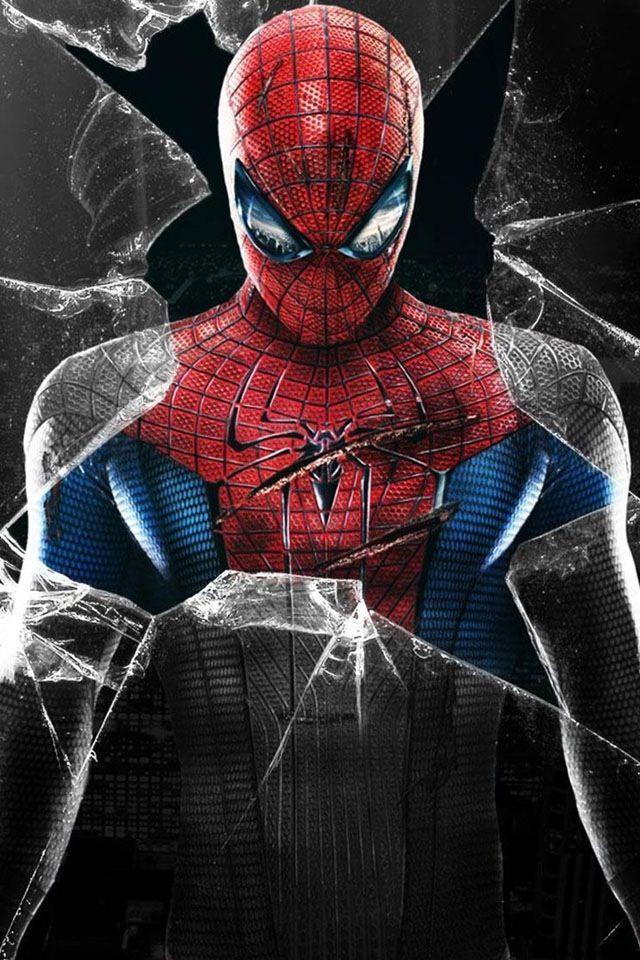 Cartoon Hd Wallpapers For Iphone 5 Spider Man Lock Screen Spiderman Pictures Hero