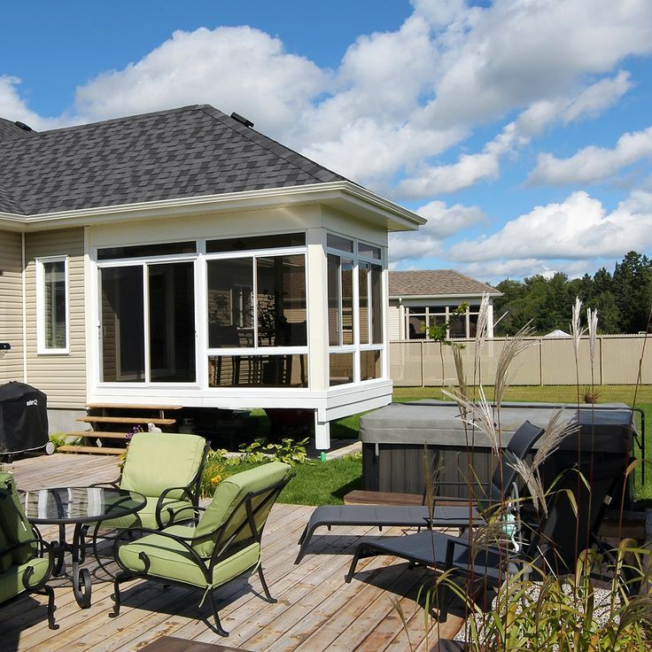 43 best solariums 3 saisons images on pinterest exterior design home exterior design and seasons. Black Bedroom Furniture Sets. Home Design Ideas