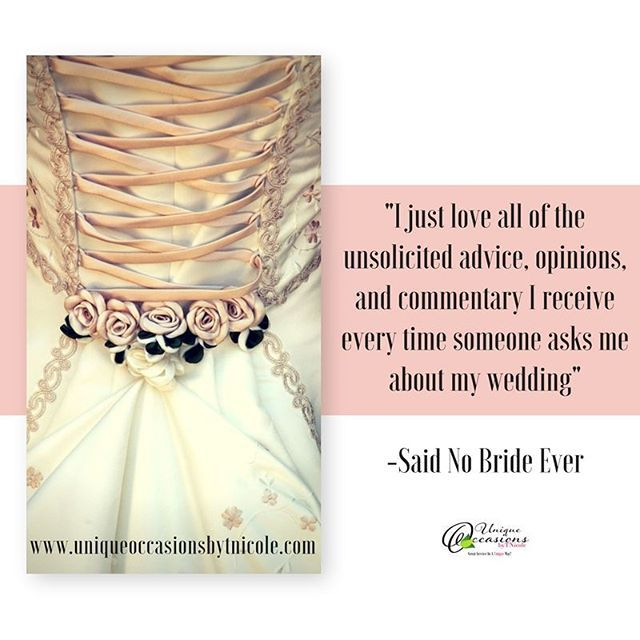 """Wedding Planning can be tough. We can help. Find out how at www.uniqueoccasionsbytnicole.com . . . . #quote #quoteoftheday #instagood #instaquote #bridezilla #wedding #inspiration #inspirational #love #happy #bride #atlanta #atlantaeventplanner #inspirationalquotes #motivationalquotes #bridetobe #motivated #inspired #quotes #hardwork #eventplanner #groom #eventplanner #weddingplanner #soontobemarried #girlboss #ladyboss"" by @tnicoleoccasions. #свадьба #невеста #prewedding #casamento…"
