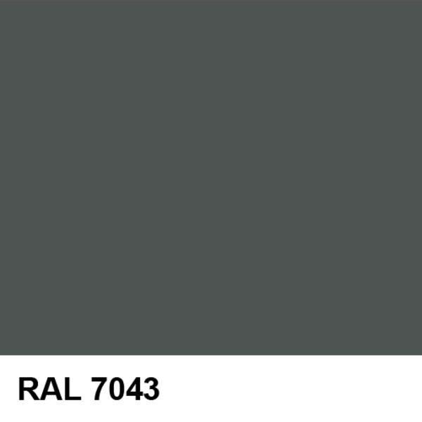 Рал цвет 7043