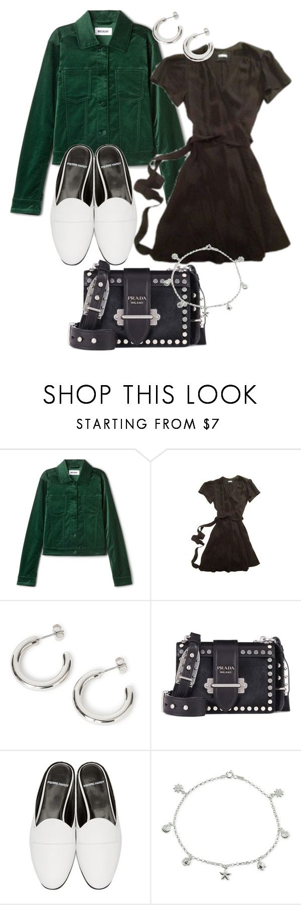 """""""Untitled #22456"""" by florencia95 ❤ liked on Polyvore featuring Prada, Pierre Hardy and Giani Bernini"""