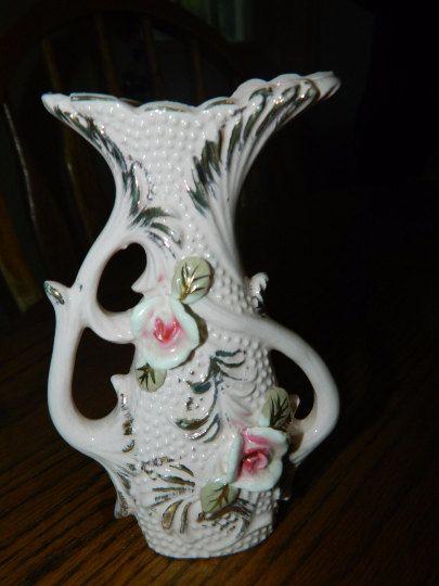 A Vintage Victorian VaseA Floral Vase CollectionA Lovely