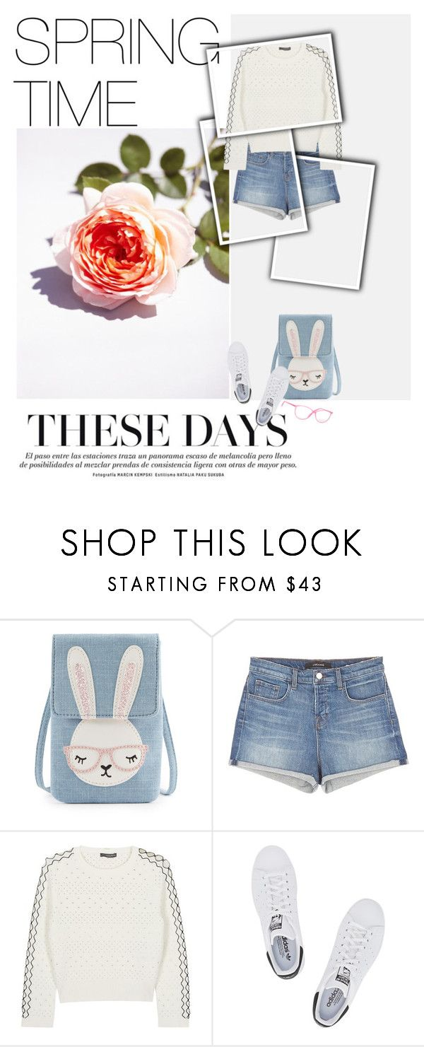 """""""Spring Time/#Spring2016"""" by sena-celik ❤ liked on Polyvore featuring J Brand, Alexander McQueen, adidas Originals, Italia Independent, soft, basic, springtime, sportystyle and spring2016"""