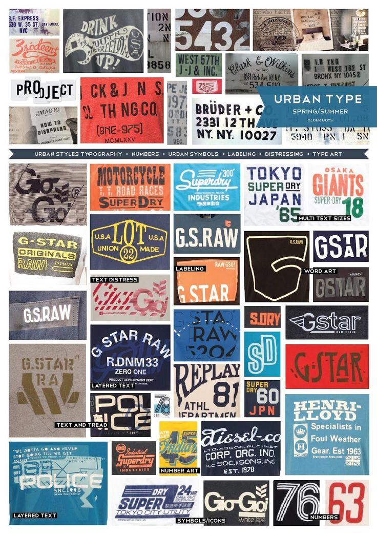 Emily Kiddy: Trend - Urban Typography