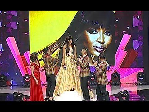 Evi Masamba Didandanin Mirip Naomi Campbell @ Konser Result Final 3 Besa...