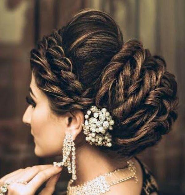 Fashion Bridal Hairstyles Weddingnet India Indian 16 Glamorous Indian Wedding Hairstyles Pretty Desig In 2020 Bridal Hair Images Indian Wedding Hairstyles Bridal Hair