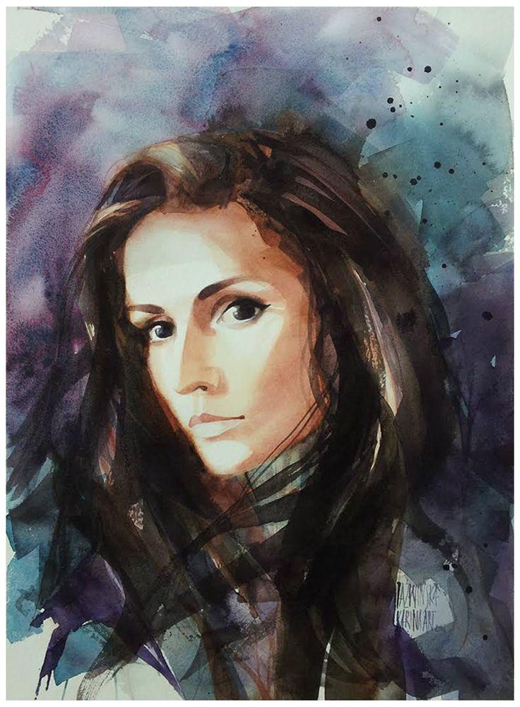 Watercolour/ 45x32 cm/ Anna