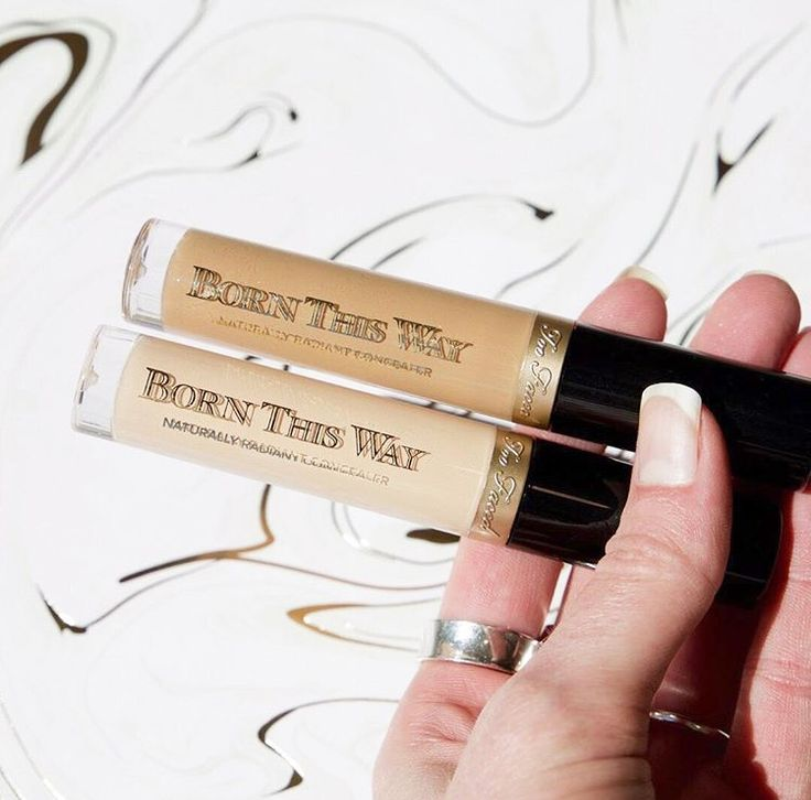 pinterest: @lilyosm | too faced cosmetics born this way full coverage concealer face makeup