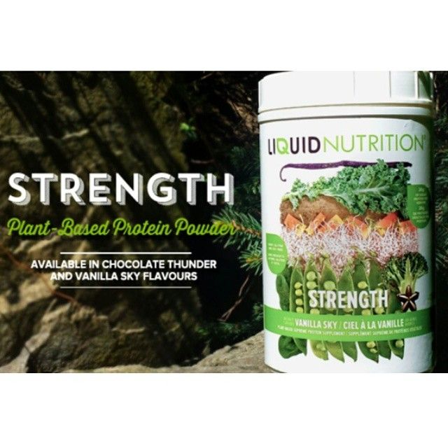 Start your week off with some #STRENGTH!  #PlantBased #Protein #ProteinPowder #Fitness #Muscle #Powder #LiquidNutrition #Vanilla #Chocolate #Vegan #Smoothies #Smoothie #Nutrition #Wellness #Health