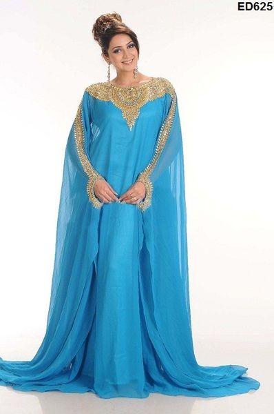 Lange Gherdaar Islamische Kleid von Kunsthandwerkfüralle auf DaWanda.com