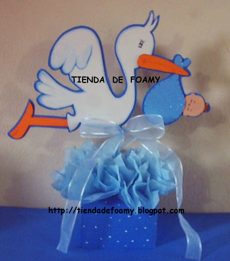 E mesa baby showertienda de foamy centro d boy baby for Mesa baby shower nino