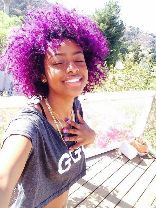 111 best images about Black Girls with Pastel Hair Color ...
