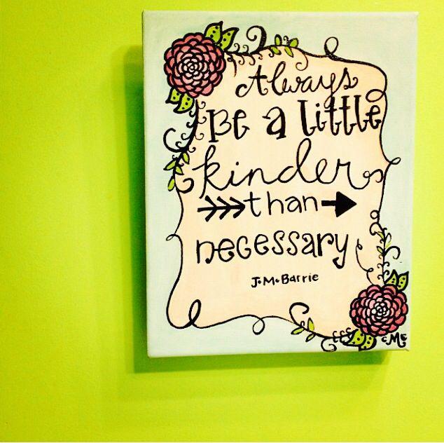 Cute canvas idea for the little
