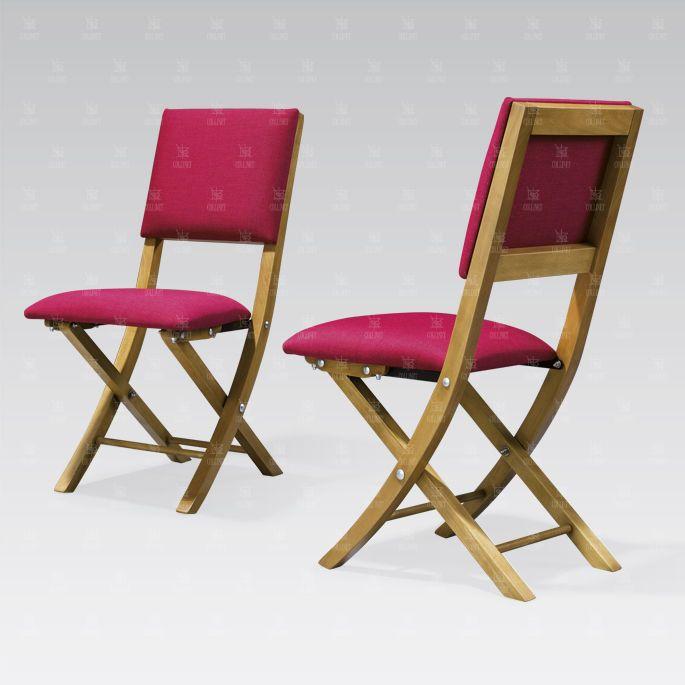 Sedia classica / in legno / pieghevole / tappezzata LOUIS XVI COLLINET sièges