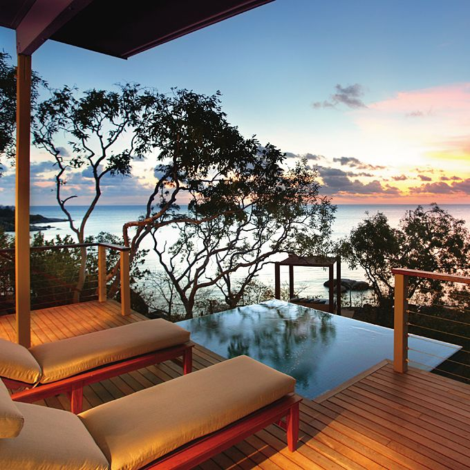 Brides.com: The Best Honeymoon Resorts Around the World. Asia and Australia: Lizard Island, Great Barrier Reef, Australia  From $1,557 (all-inclusive); Lizard Island