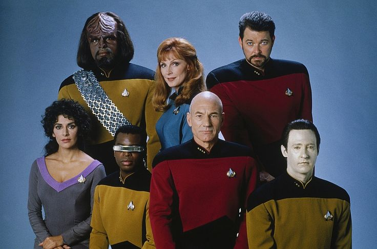 Star Trek: The Next Generation. I learned the principles of leadership from Captain Jean-Luc Picard