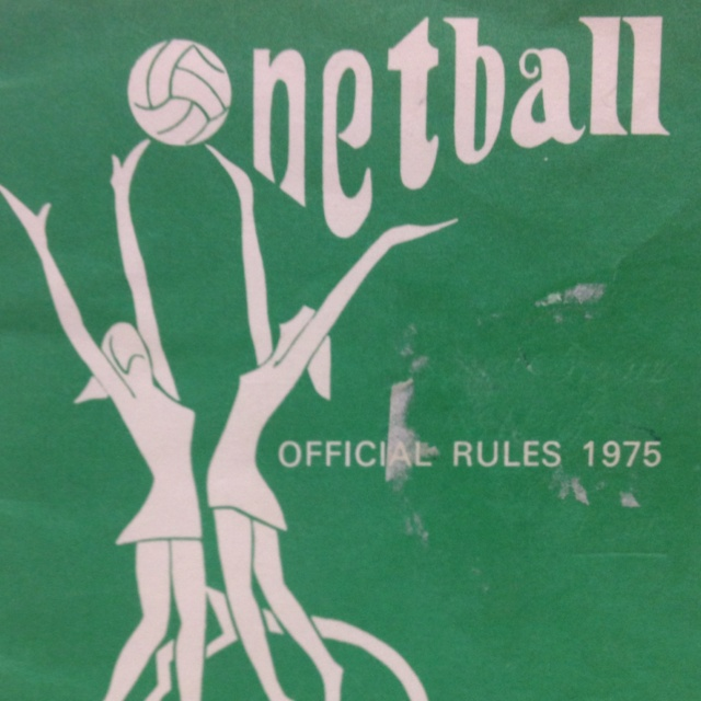 Official rule book from 1975
