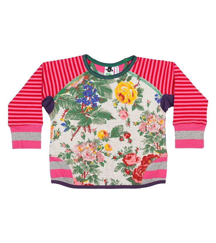 Miss Behaving Crew Jumper, Oishi-m Clothing for kids, Autumn 2016, www.oishi-m.com