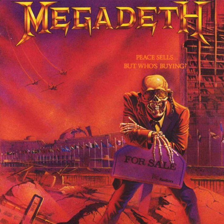 """Megadeth - """"Peace Sells...But Who's Buying?"""""""