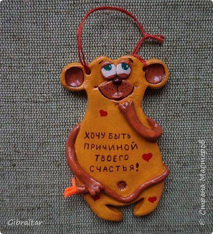 Поделка изделие Лепка Обезьянки-позитивчики и подковка Тесто соленое фото 2