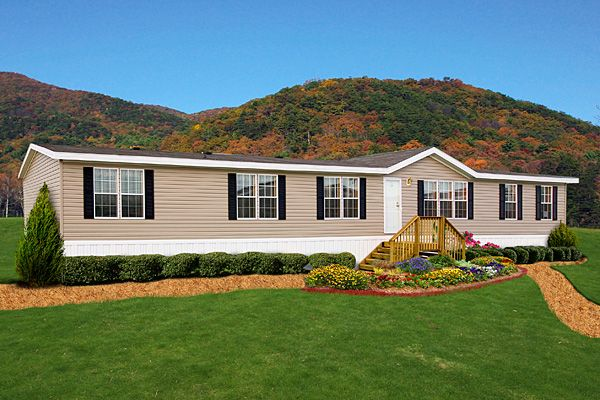 Pictures Of Mobile Homes: Mobile Home Landscaping