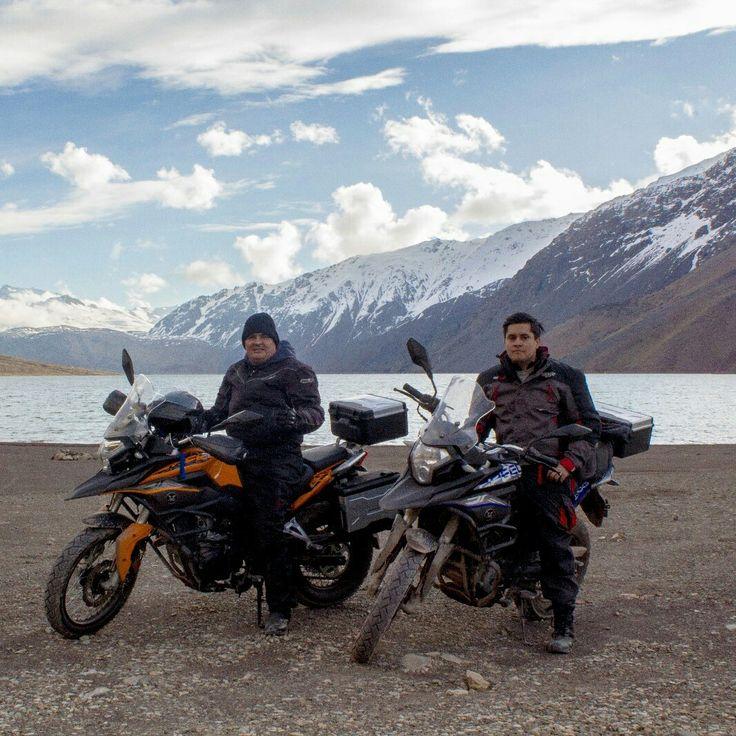 Viaje Embalse el Yeso - San José de Maipo - Chile. ( Motorcycle / Trail / Zongshen RX3 )  Más fotos en Facebook (Team Caleuche)