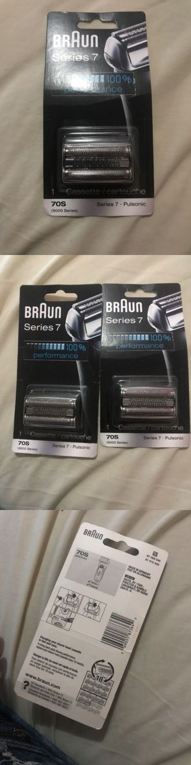 Shaver Parts and Accessories: New Braun Series 7 Single Pack 70S Cassette Replacement 9000 Series Pulsonic -> BUY IT NOW ONLY: $41 on eBay!