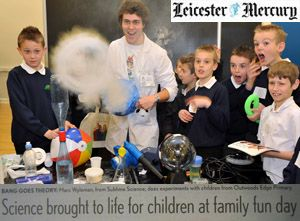 Mad Marc in the Leicester Mercury!