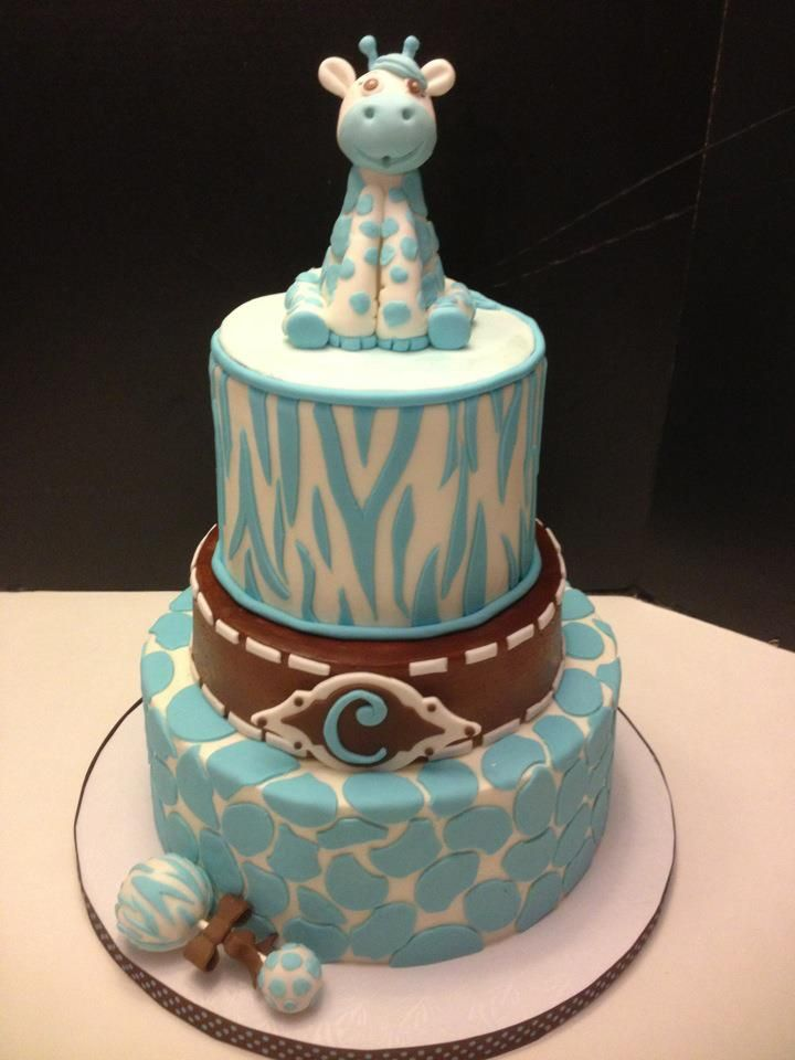 cakes giraffe cakes boy cakes baby boy shower baby shower cakes