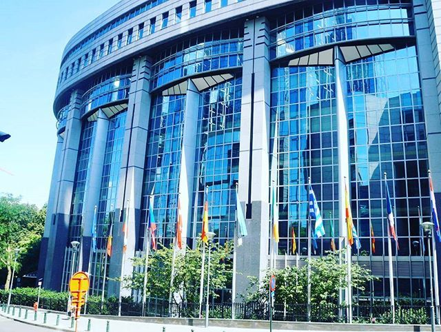 #wonderful_places  A Place full of power. 🌁💶💰 Housed in the International Congress Building in Leopold park, this huge and beautiful glass structure is one of three homes of the European Parliament– the others are located in Strasbourg (France) and Luxembourg. Amazing!  #brussels #archlovers #power #belgium #belgica #sobrelugares #sophistication #instagood #architecture #instacool #building #wonderful_places #beauty #place #parliament #picoftheday #photography #photooftheday…
