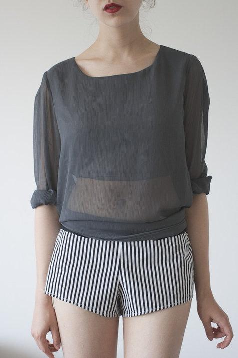 Midriff sheer blouse by postmodest on BurdaStyle: Fashion Envy, Black Summer, Burdastyl Member, Diy Clothing, Sewing Tut, Fashion Faded Styl, Beautiful People, Fashion Fadesstyl, Cut Things