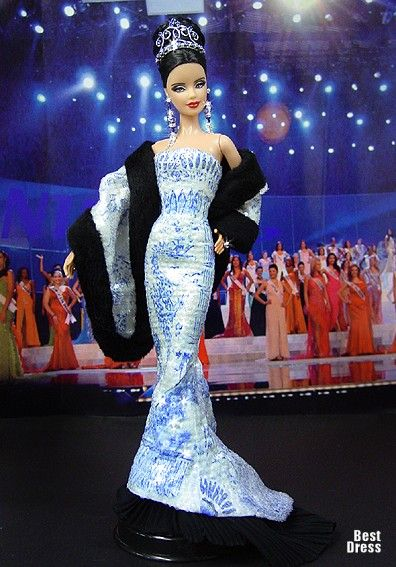 Miss Buryatia (Dress Roberto Cavalli)