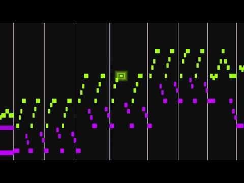 "Muziek om te ""zien"" Lots of Animated Music Maps. Beethoven, Pathetique Sonata, 3rd mvt."