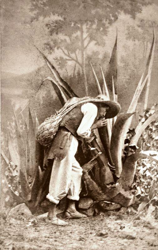 Bombero en México, bajo el Imperio de Maximiliano de Austria                                ...