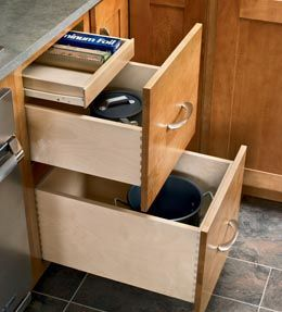 Base Deep Drawer Combination To Right Of Sink Next To