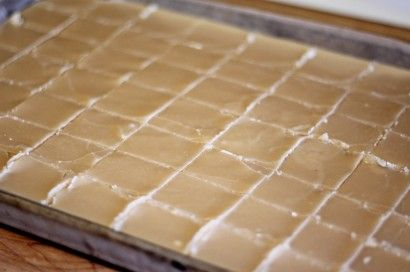 South African Creamy Condensed Milk Fudge (this recipe calls for Castor sugar, you can make your own castor sugar by putting regular granulated suger in a food processor and grinding it to a super fine consistency as seen here http://frugalliving.about.com/od/makeyourowningredients/r/Castor_Sugar.htm)