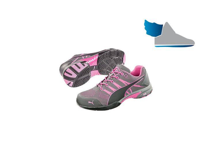 Kvalitná dámska pracovná obuv značky PUMA.