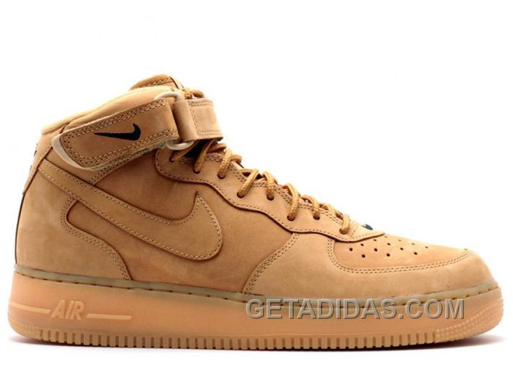 Kanye west shoes online store offer Air Force 1 Mid 07 Prm Qs Flax Shoes  Sells Online,discount cheap yeezy boost 350 Online for Sale