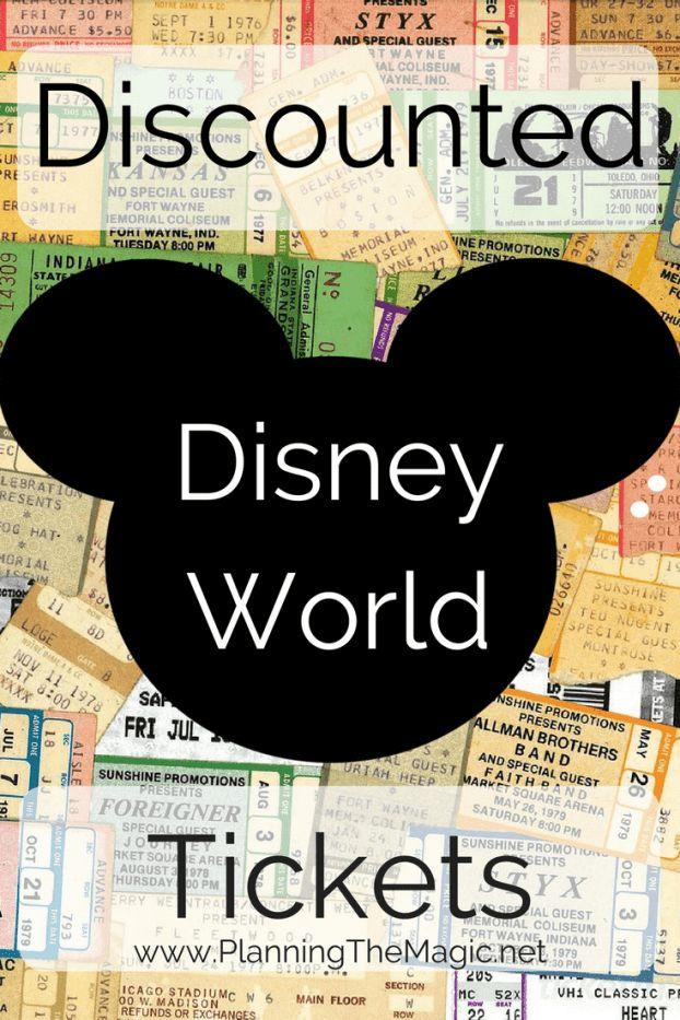 Discounted Disney World Tickets 2017