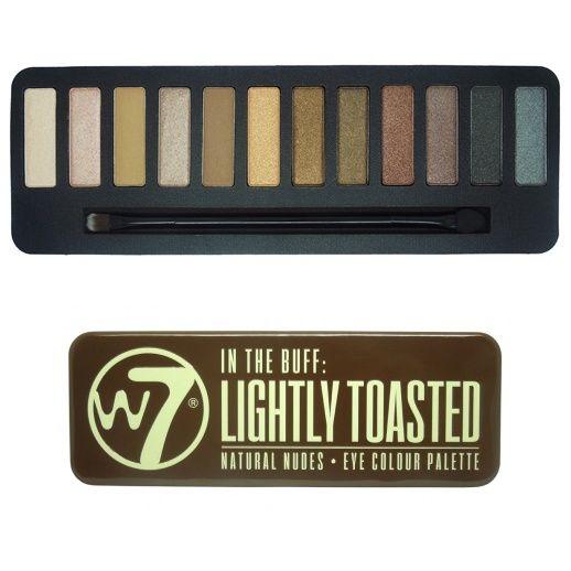 W7 Lighty Toasted Eyeshadow Palette
