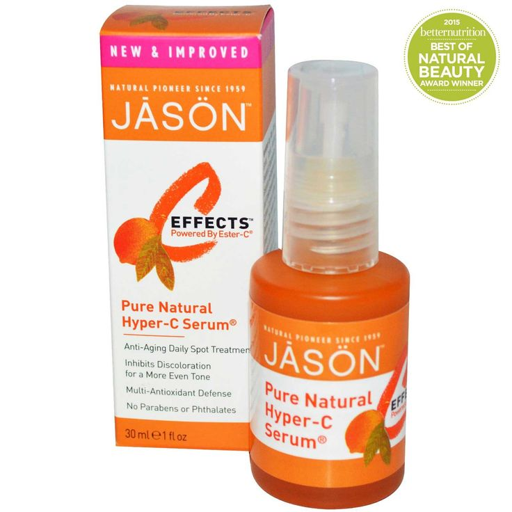 Jason Natural, C-Effects, Hyper-C Serum, Anti-Aging Daily Spot Treatment, 1 fl oz (30 ml) - iHerb.com