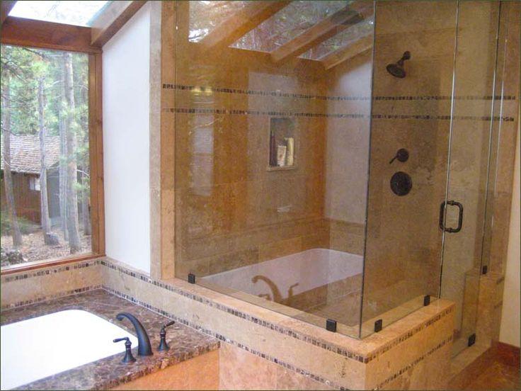 Deep Tub Shower Combo. Soaking Tub And Shower Combo New Bathtub ...
