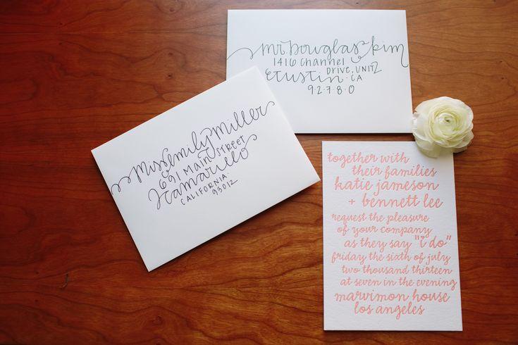 Diy Addressing Wedding Invitations: 25+ Best Ideas About Addressing Wedding Envelopes On
