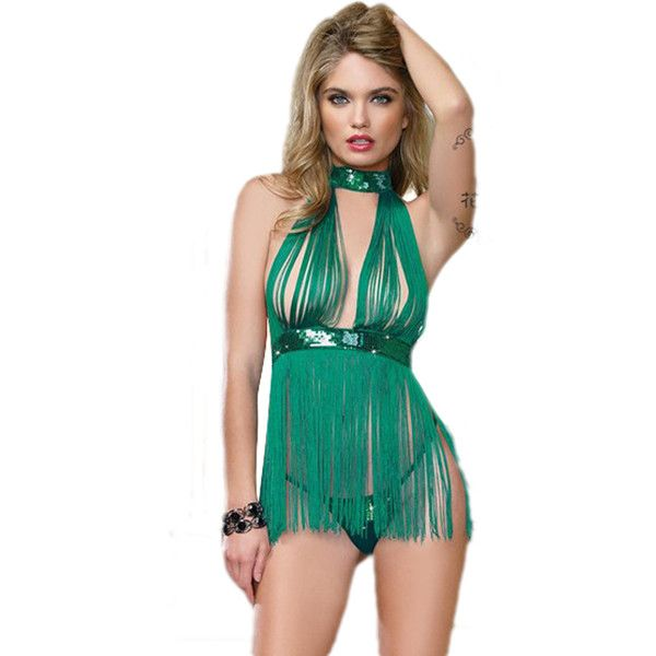 Sexy See Through Fringe Christmas Elf Costume (£7.23) ❤ liked on Polyvore featuring costumes, red, sexy costumes, elf halloween costume, santas helper costume, santa's elf costume and sexy red costumes